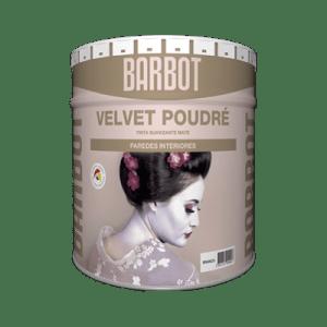 Barbot, Tintas Barbot, Paredes e Tetos, Tintas Lisas, Barbot Velvet Poudre
