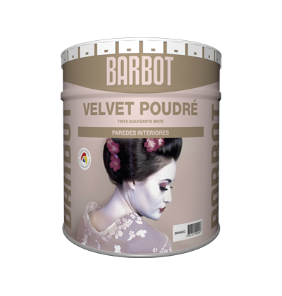 Velvet Poudré, Walls and Ceilings, Plain Paint, Tintas Barbot