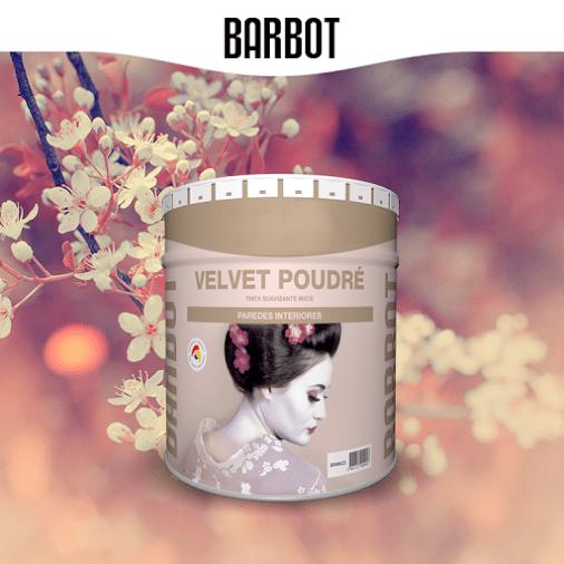 Velvet Poudré, Tintas Lisas, , Tintas Barbot