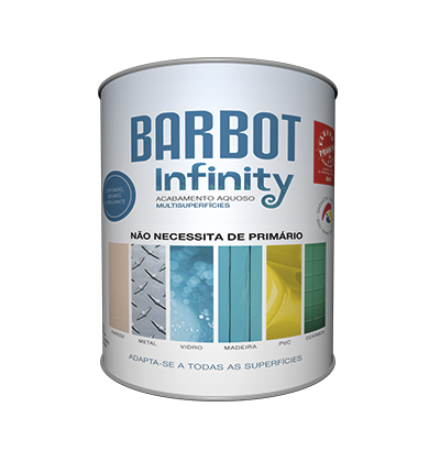 Barbot Infinity Brilhante, Paredes e Tetos, Tintas Lisas - Multi-superfícies, Tintas Barbot