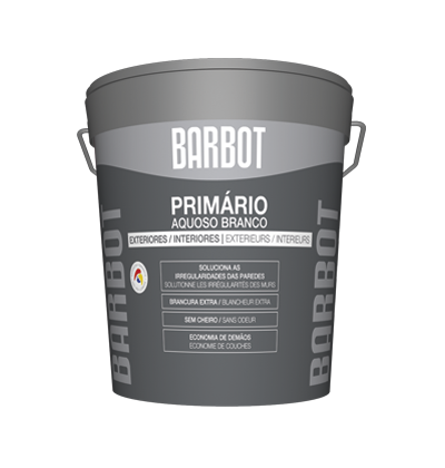 White Water-based Primer, Primers, , Tintas Barbot