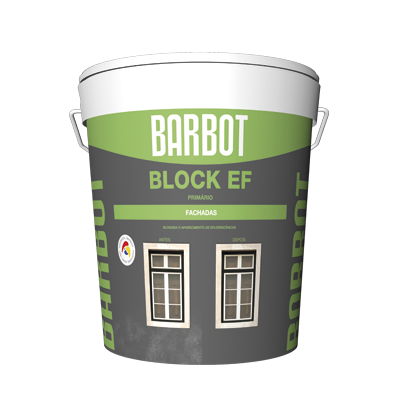 Block EF Primer, Exterior Walls, Roofs and Terraces, Primers, Tintas Barbot