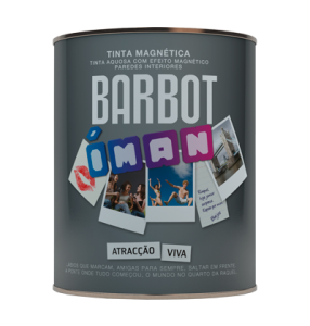 Barbot Magnet, Plain Paint - Decorative Effects, , Tintas Barbot