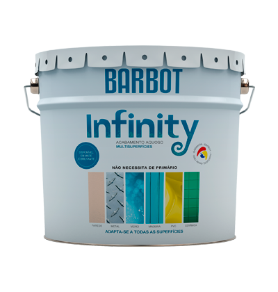 Barbot Infinity Mate, Paredes e Tetos, Tintas Lisas - Multi Superfícies, Tintas Barbot