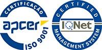 Certificação Barbot, Qualidade Barbot, ISO 9001, Certificação Qualidade, Qualidade, Logotipos Apcer e IQNET