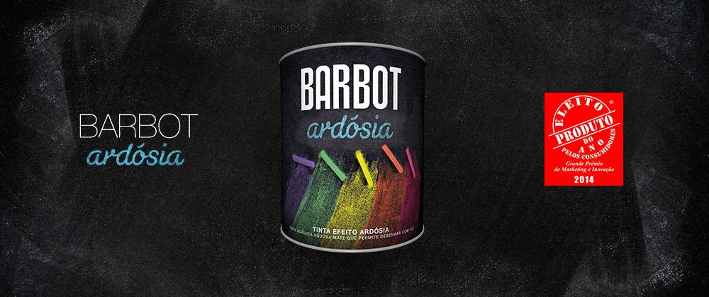 Tintas Barbot, Barbot, Notícias Barbot, Tintas, Barbot Ardósia, Produto Ano 2014