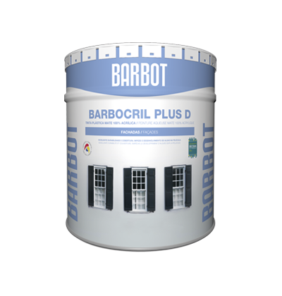 Barbocril Plus D, Plain Paint, , Tintas Barbot