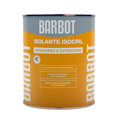 Isocril Sealant, Exterior Walls, Roofs and Terraces, Primers, Tintas Barbot