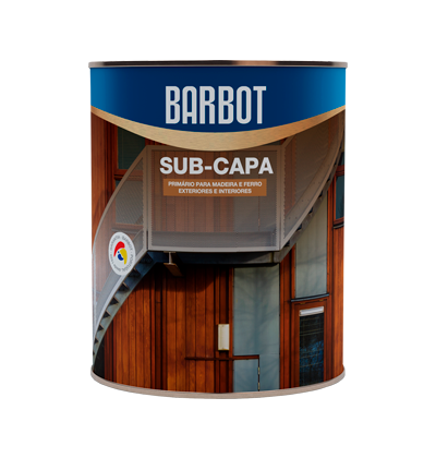 White Undercoat, Wood and Metals, Protection and Treatment of Wood, Tintas Barbot