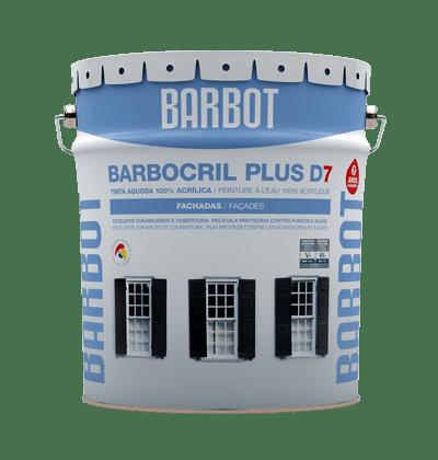 Barbocril Plus D7, Exterior Walls, Roofs and Terraces, Plain Paint, Tintas Barbot