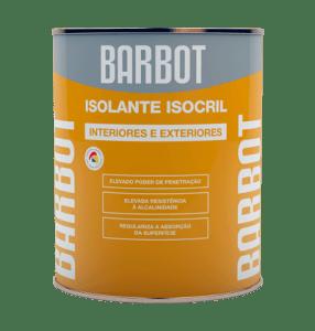 Isolante Isocril, Primários, , Tintas Barbot
