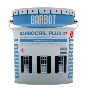 Barbocril Plus D7, Exterior Walls, Roofs and Terraces, Plain Paint, Tintas Barbot