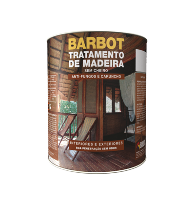 Odourless Wood Treatment, Protection and Treatment of Wood, , Tintas Barbot
