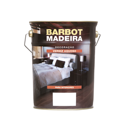 Water-based Gloss Varnish for Floors, Wood and Metals, Varnishes Decoration and Protection of Wood, Tintas Barbot