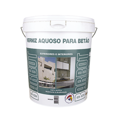 Water-based Varnish for Concrete, Exterior Walls, Roofs and Terraces, Concrete, Tintas Barbot