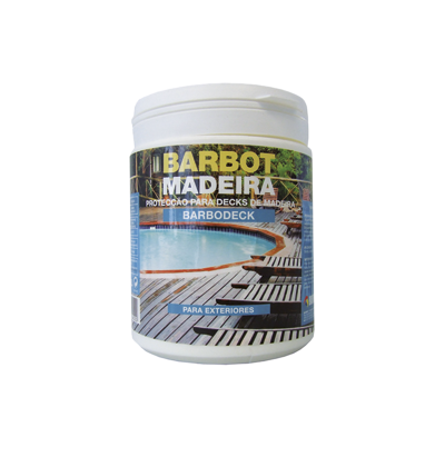 Barbodeck Varnish, Wood and Metals, Varnishes Decoration and Protection of Wood, Tintas Barbot