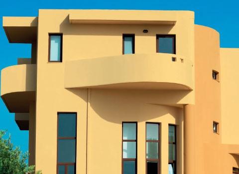 Amarelos para fachadas tintas barbot Catalogo de fachadas de casas