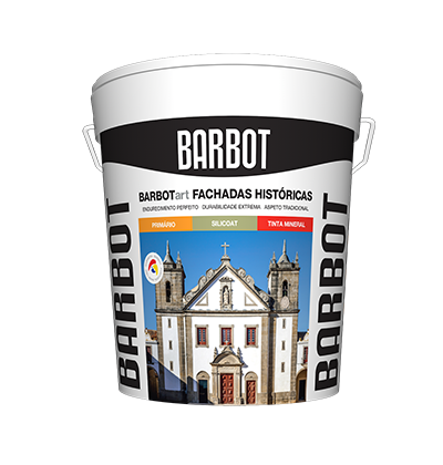 BARBOTArt – Historic Exterior Walls, Exterior Walls, Roofs and Terraces, Plain Paint, Tintas Barbot