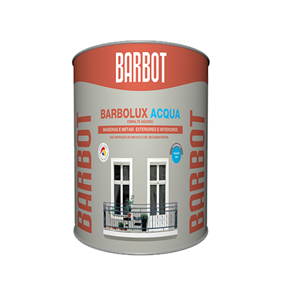 Barbolux Acqua – Gloss Finish, Wood and Metals, Enamel Paint Wood and Metals, Tintas Barbot