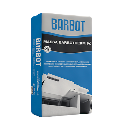 Barbotherm Compound Powder, Renovation of Exterior Walls, , Tintas Barbot