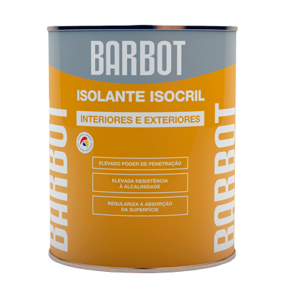 Isocril Sealant, Primers, , Tintas Barbot