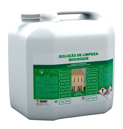 Biochoque Cleaning Solution, Walls and Ceilings, Auxiliary Products, Tintas Barbot
