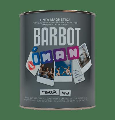 Barbot Magnet, Plain Paint - Decorative Effects, , Tintas Barbot