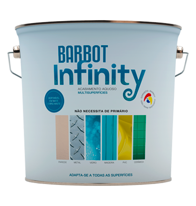 Barbot Infinity Gloss, Walls and Ceilings, Plain Paint - Multi-surface, Tintas Barbot