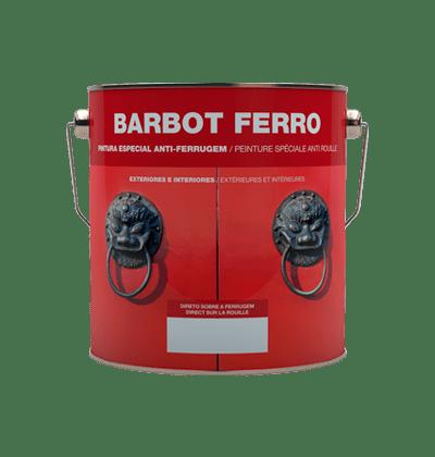 Ferro, Madeiras e Metais, Esmalte Direto à Ferrugem, Tintas Barbot