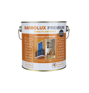 Barbolux Premium Brilhante, Madeiras e Metais, Esmaltes Madeiras e Metais, Tintas Barbot