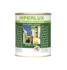 Water-based Hiperlux, Wood and Metals, Enamel Paint Wood and Metals, Tintas Barbot