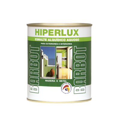Water-based Hiperlux, Enamel Paint Wood and Metals, , Tintas Barbot