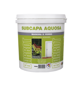 Sub-Capa Aquosa Branca, Primários Madeiras, , Tintas Barbot