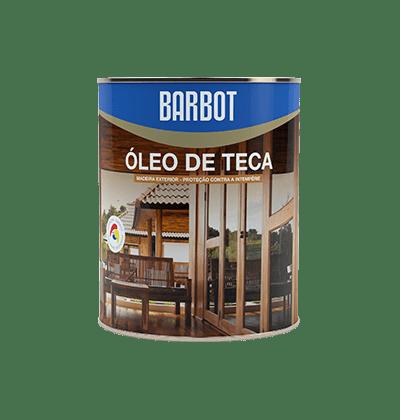 Óleo de Teca, Madeiras e Metais, Proteção e Tratamento Madeiras, Tintas Barbot