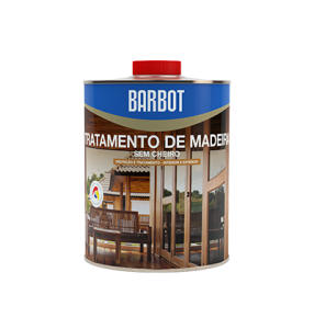 Odourless Wood Treatment, Wood and Metals, Protection and Treatment of Wood, Tintas Barbot