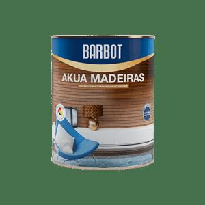 Barbot, Vernizes para decoração e proteção de madeiras, Akua Madeiras Brilhante ou Acetinado