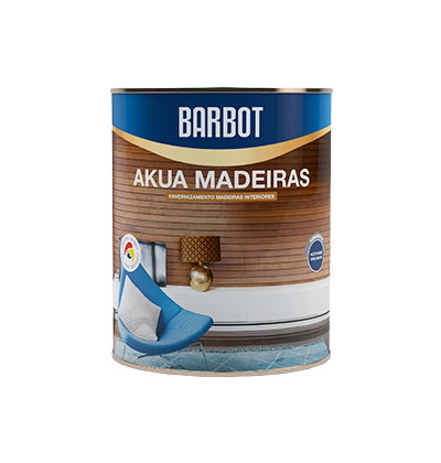 Akua Satin Wood, Wood and Metals, Varnishes Decoration and Protection of Wood, Tintas Barbot