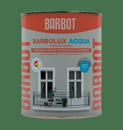 Barbolux Acqua Matt, Wood and Metals, Enamel Paint Wood and Metals, Tintas Barbot