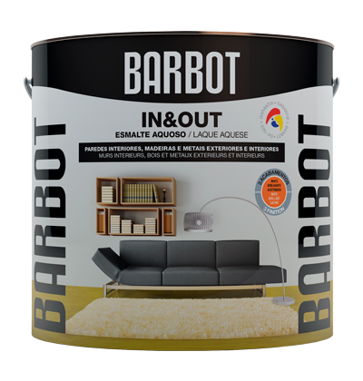 In&Out Satin, Wood and Metals, Enamel Paint Wood and Metals, Tintas Barbot