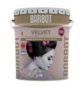 Velvet, Walls and Ceilings, Plain Paint, Tintas Barbot