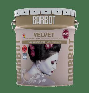 Velvet, Paredes e Tetos, Tintas Lisas, Tintas Barbot