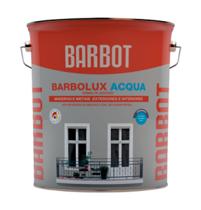Barbolux Acqua Matt, Wood and Metals, Enamel Paint Wood and Metals, Tintas Barbot