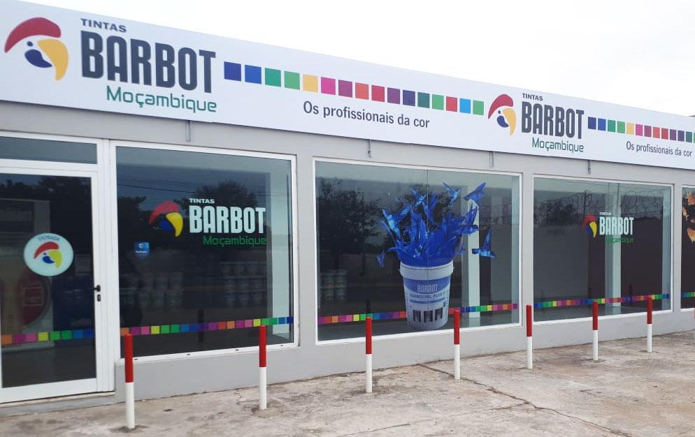 Tintas Barbot, Nova Loja, Loja Moçambique
