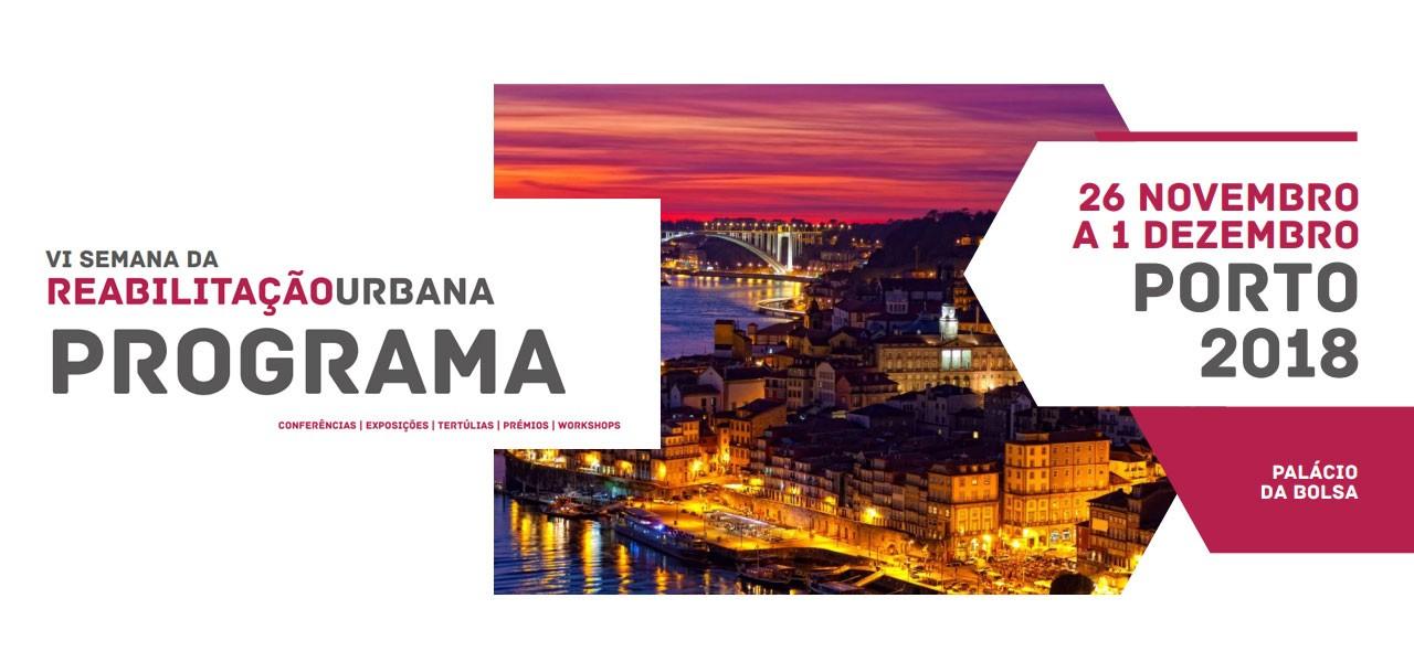 Barbot está de regresso à Edição 2018 da Semana da Reabilitação Urbana do Porto