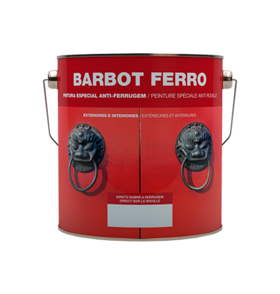 Wrought-iron effect enamel, Wood and Metals, Enamel Direct to Rust, Tintas Barbot