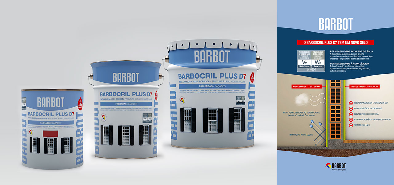 Barbocril Plus D7 com novos selos informativos