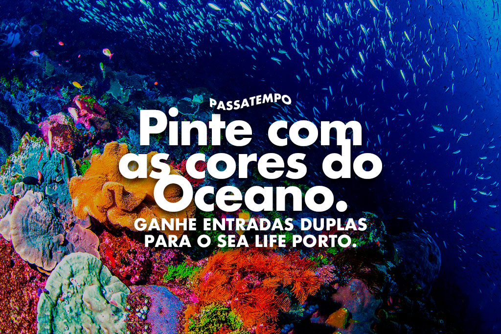 Barbot oferece bilhetes para o Sea Life Porto!