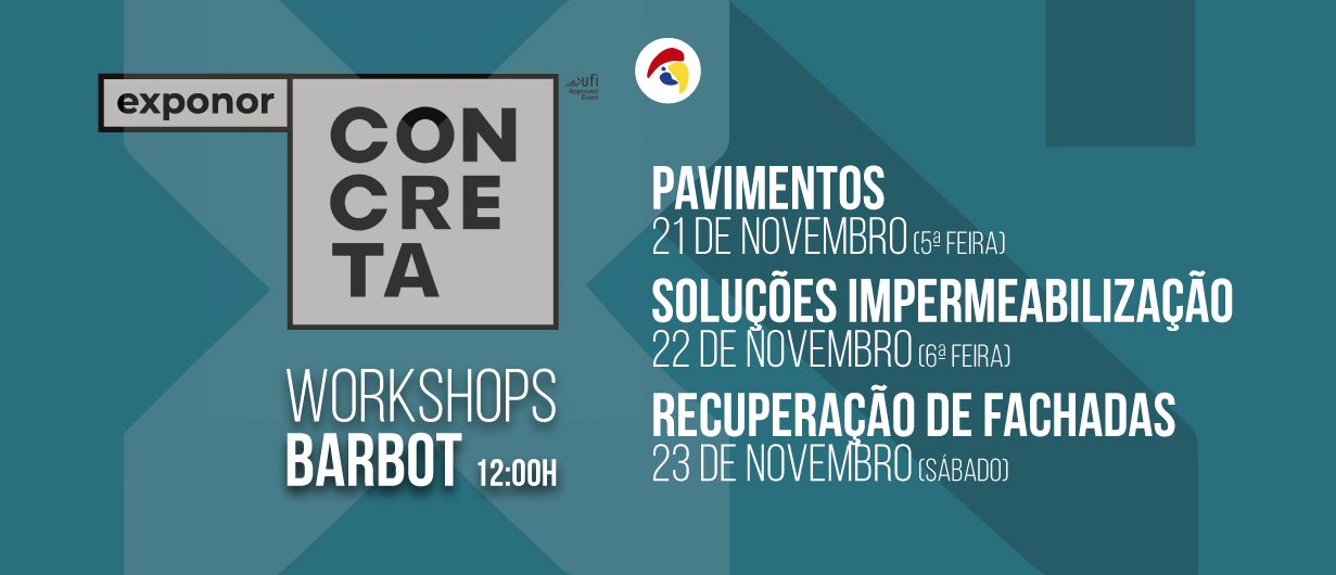 Workshops Barbot – Concreta 2019.